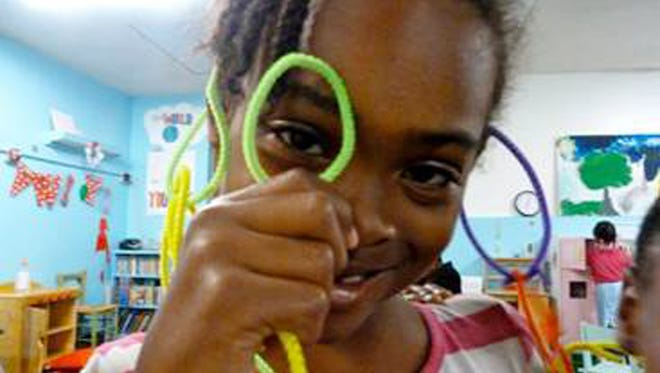Eight-year-old Relisha Tenau Rudd in a photo from the FBI.