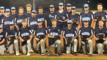 Frankfort's 2019 state runner-up squad poses in Charleston.