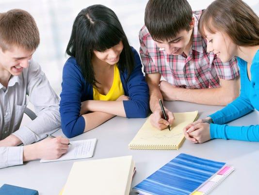 Teens meeting