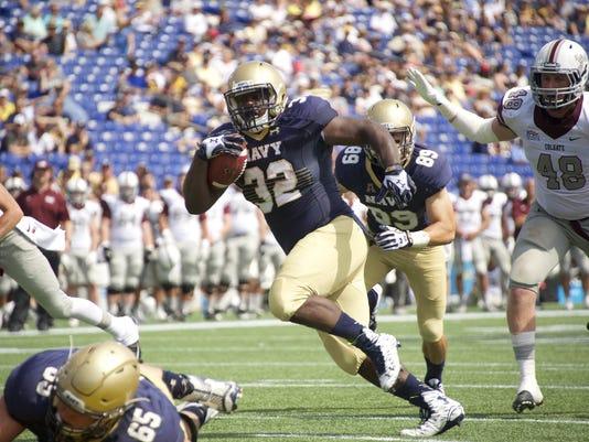 NCAA Football: Colgate at Navy