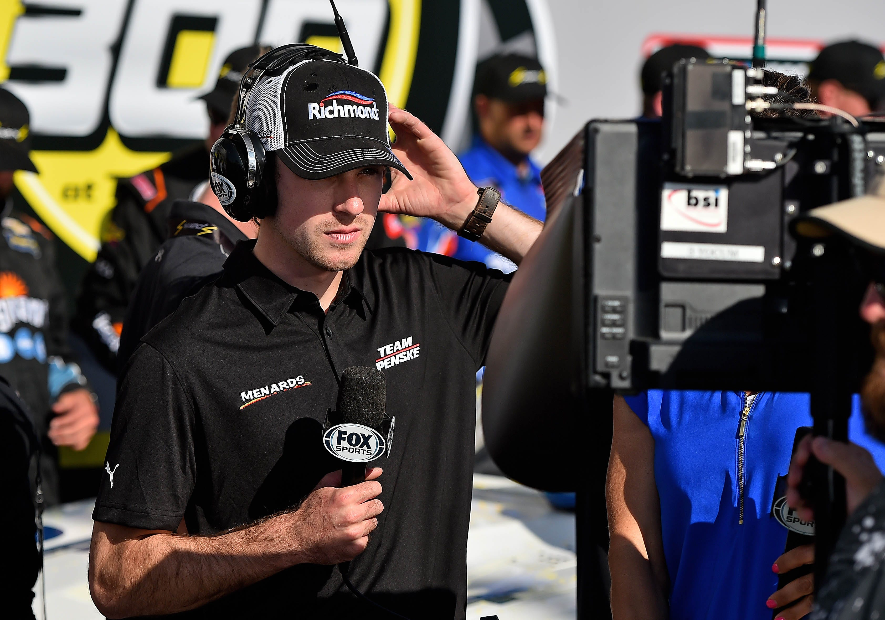 nascar cup drivers get another turn in fox tv booth at xfinity race rh usatoday com