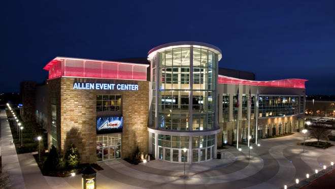 Hat Trick Consultants would like to put an arena – such as this one in Allen, Texas – in Worcester County as a potential home for an ice hockey team.