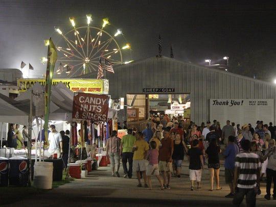 The Sheboygan County Fair opens Thursday, Sept. 3 in