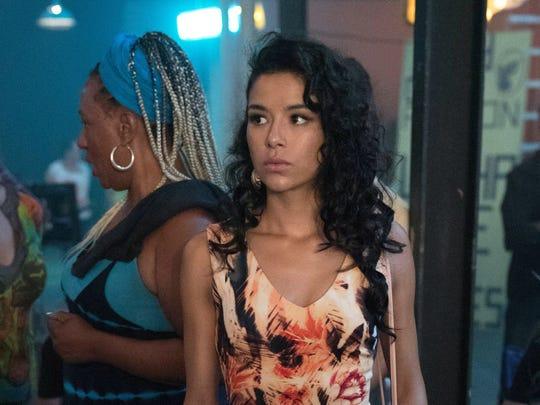 Emily Rios as  Lucia Villanueva on 'Snowfall.'