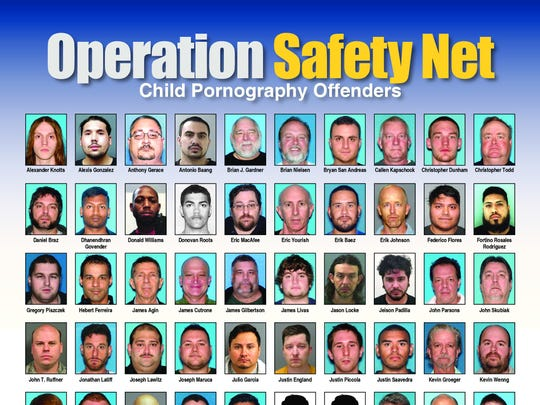 New Jersey Attorney General Christopher S. Porrino on Friday announced arrests of 79 child predators and child pornography offenders in Operation Safety Net.
