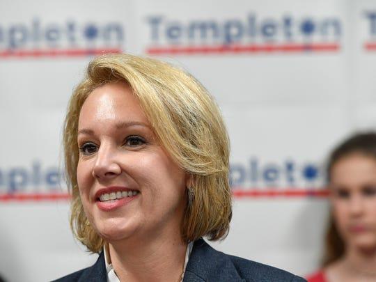 Gubernatorial Candidate Catherine Templeton kicks off