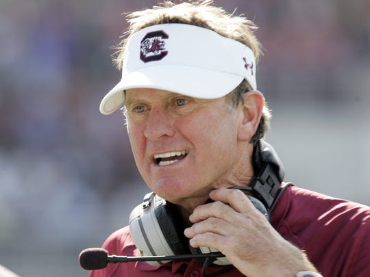 (RANK 2) From 2010 through 2013 under coach Steve Spurrier, South Carolina won 42 games. During the same stretch, UT had four consecutive losing seasons.