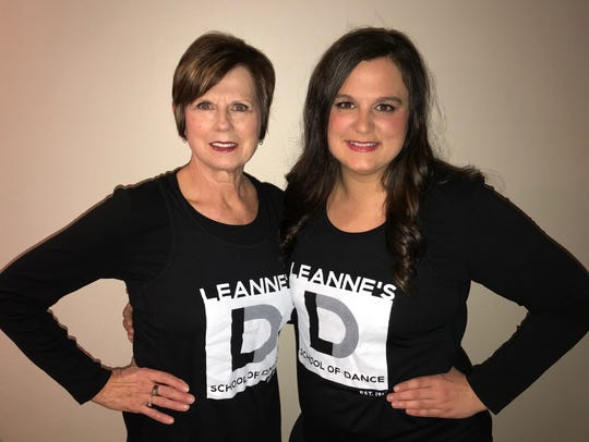 Leanne Cronbaugh (left) and her daughter Abby Kasper