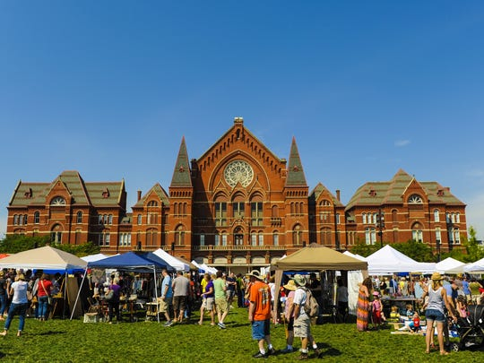 The City Flea, Cincinnati's curated urban flea market,