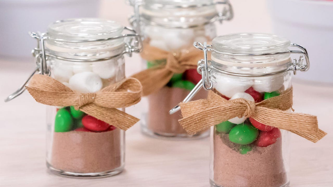 Christmas DIY: Hot cocoa shots