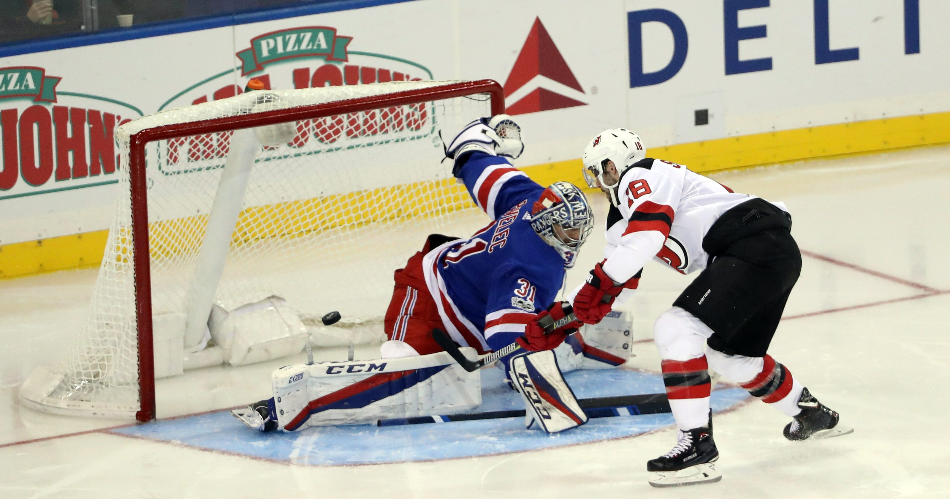 Devils continue Rangers  early-season struggles 1cff679b1