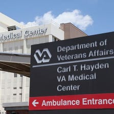 May 8 photo shows the Phoenix VA hospital, one of many such facilities under investigation for long delays in treating patients.