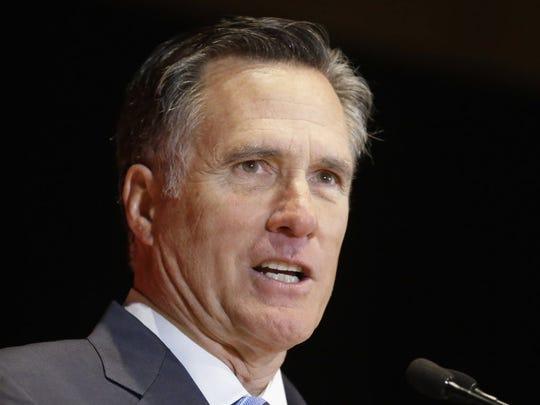 Mitt Romney gets hep.