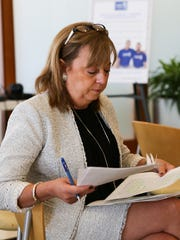 Pamela Henson, Regional President and two-time cancer survivor.