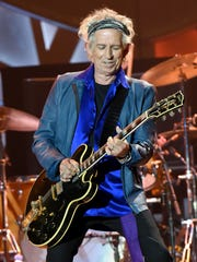 Guitarist Keith Richards looked like he was having