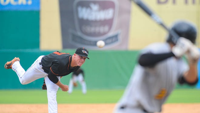 In the ninth, Garrett Cortright struck out two batters in a perfect frame.