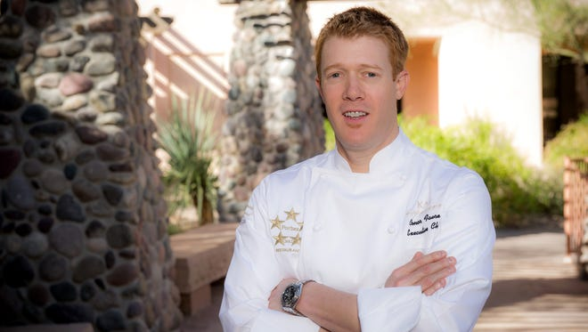 Conor Favre, Executive Chef of The Sheraton Wild Horse Pass Resort & Spa, is leaving the Valley for the St. Regis San Francisco.