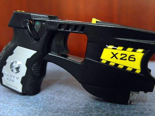 A Taser is shown in this file photo.
