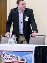 Keynote speaker Mike Pearson