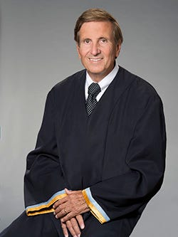 Delaware Supreme Court Justice Randy J. Holland will give a free talk at Widener University Delaware Law School on Sept. 29.