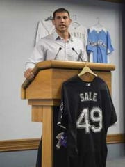 Former Eagles pitcher and current Milwaukee Brewers