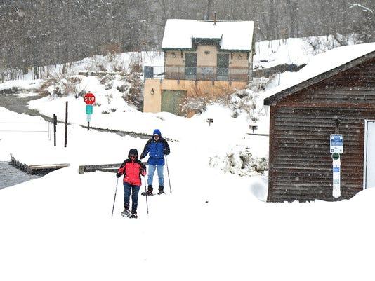 Weather - Snow at Wawayanda State Park