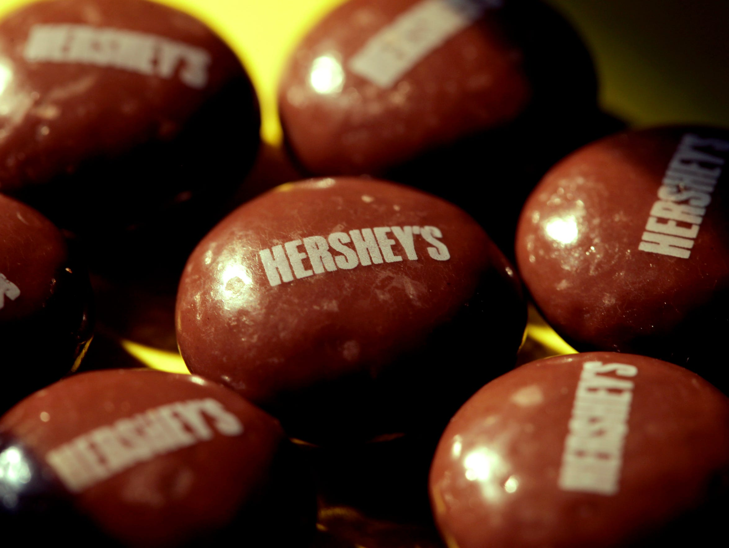 Hershey is one of the nation's largest candymakers.