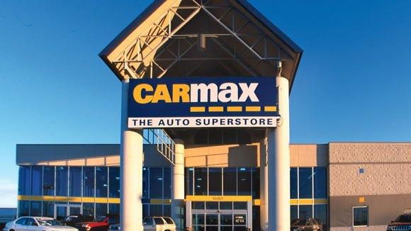 A file photo of a CarMax store.
