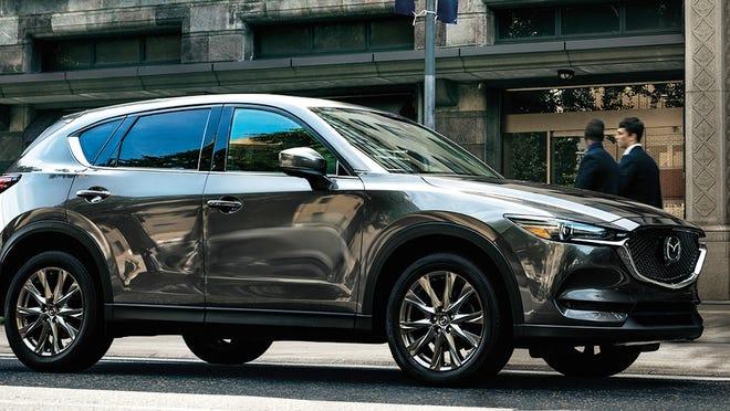 The 2020 Mazda CX-5 Signature AWD Turbo.
