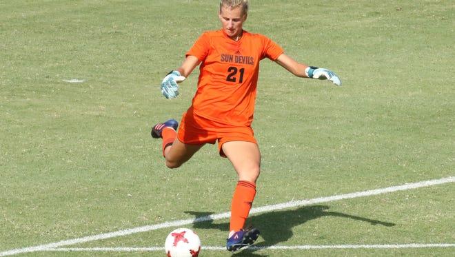 ASU freshman goalkeeper Nikki Panas gave up six goals while making seven saves Sunday in a 6-0 loss at No. 2 Stanford.