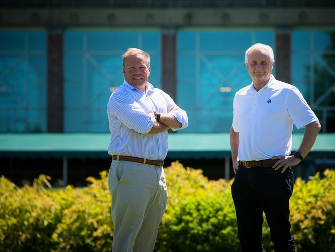Ben du Pont (left) and Don Wirth are the new owners