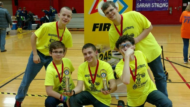 Members of a local Boy Scout troop will compete Saturday in the state championships for robotics.