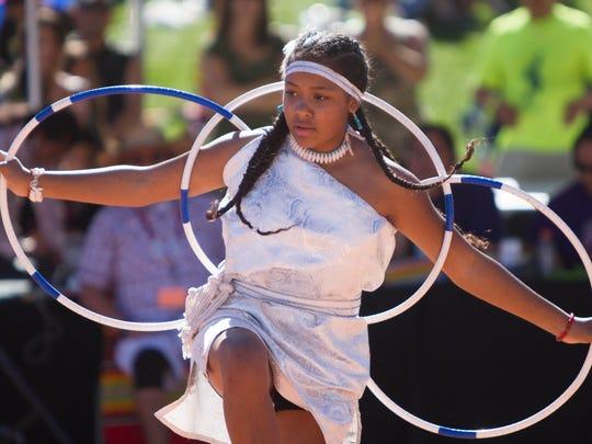 Francesca Alicia Maestas of the Pueblo of Pojoaque