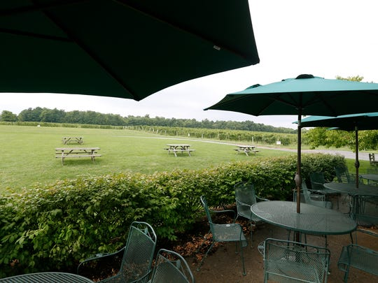 Views at Fox Run Vineyards in the Finger Lakes region.