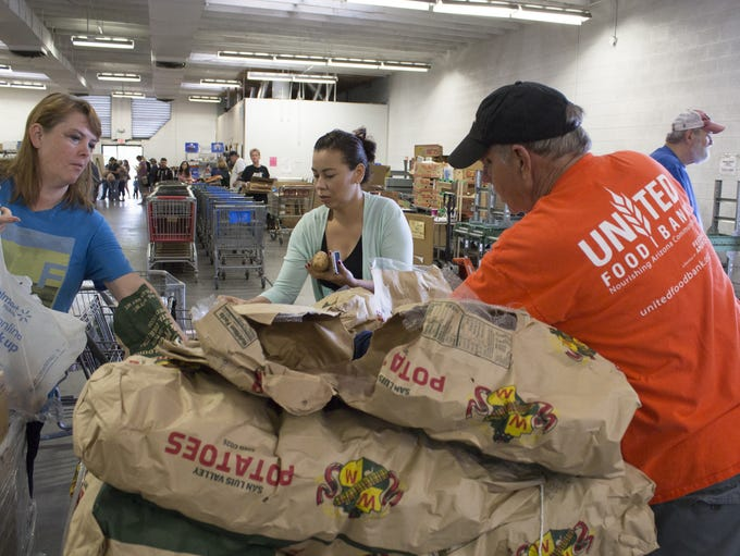 The Mesa-based United Food Bank announced a new CEO,