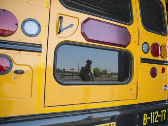 What happened on a school bus involving the Verrado