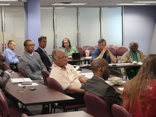 Members of the Community Leadership Council on Gun Violence met for the fourth time Thursday night and decided to focus its initial efforts on South City and Frenchtown.