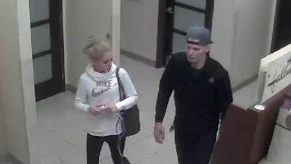 West Manchester Township police are seeking the identities of these two, wanted in connection with a retail theft at Kohls' on Valentine's Day.