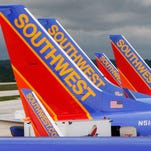 This file from May 16, 2008, shows Southwest Airlines jets at Baltimore/Washington International Airport.