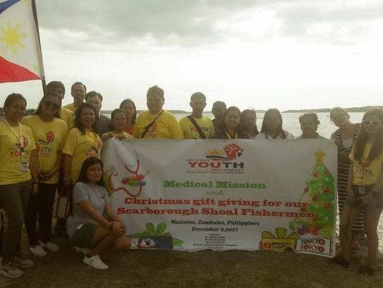 On Dec. 9, after the Medical Mission and Christmas