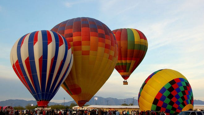 Arizona Events GroupMore than 20 balloons will be a part of the fifth-annual Arizona Balloon Classic