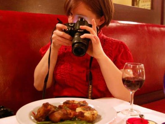 Some restaurants are starting to ban cameras because, they claim, the photos interrupt the dining experience for others. Photo by Mark Anbinder via Flickr Creative Commons
