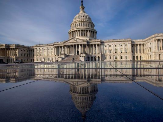 U.S. Capitol -- Senate battle