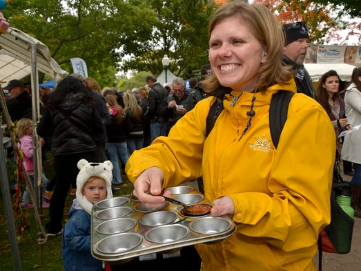 Chili Fans Flock To Downtown Plymouth