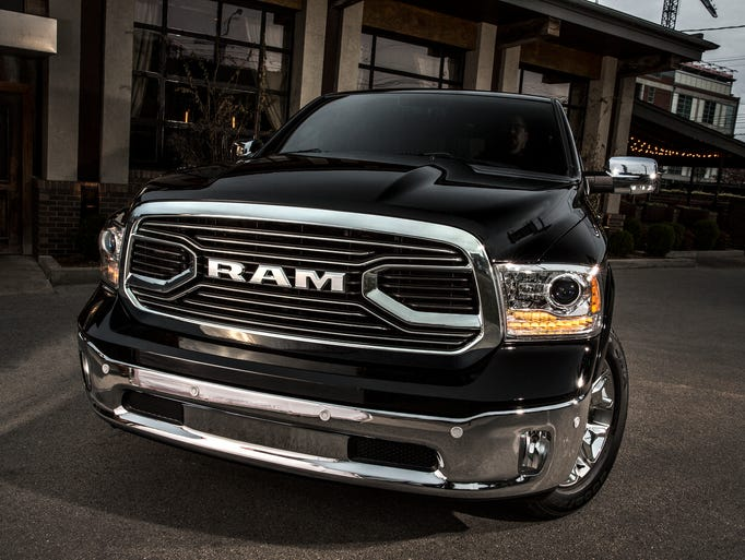 The 2015 Ram 1500 Laramie Limited Crew Cab 4x4 will