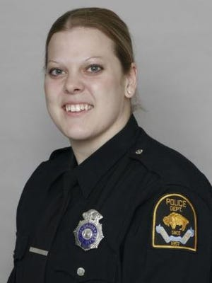 This photo provided by the Omaha Police Department shows officer Kerrie Orozco. A suspect being sought by police for an Omaha shooting opened fire on officers Wednesday, May 20, 2015, prompting a shootout that left Orozco and the suspect dead, according to Police Chief Todd Schmaderer.