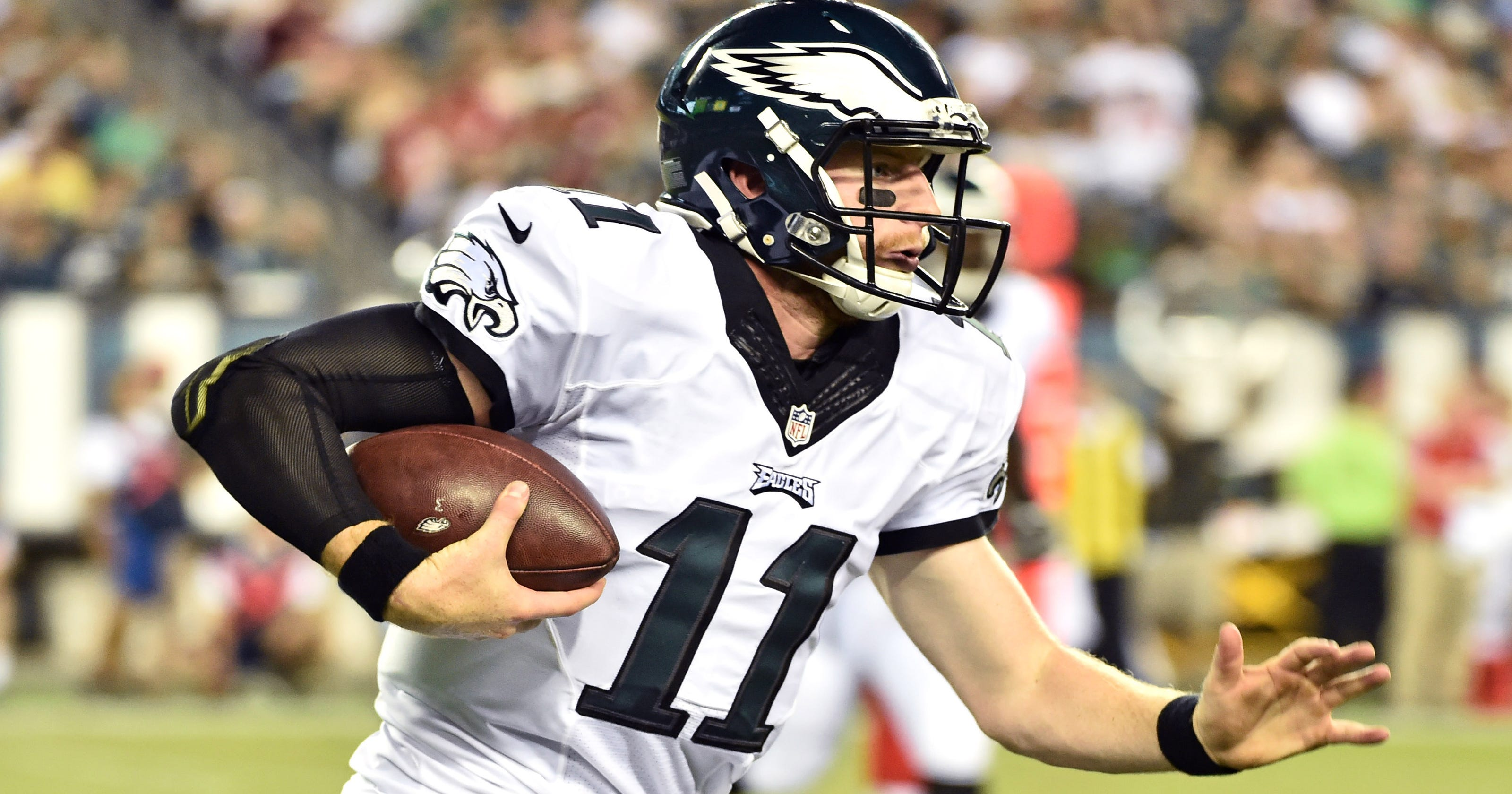 Carson Wentz doesn t disappoint in his Philadelphia debut 2cf0b92f9