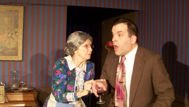 "Off the Wall Theatre performs the comedy ""Arsenic and Old Lace"" through Dec. 31."