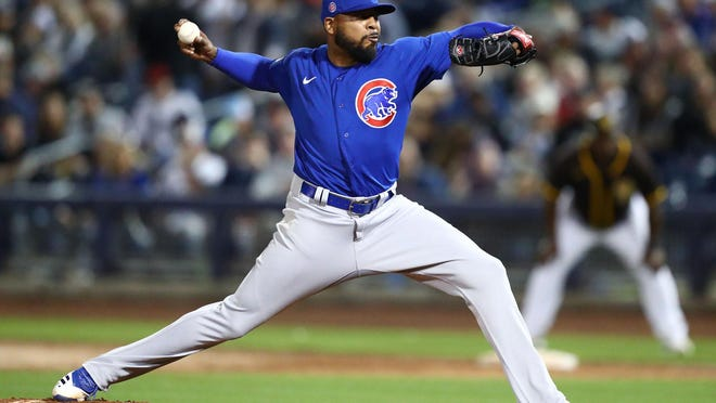 Chicago Cubs pitcher Jeremy Jeffress, a former Kansas City Royal, could play for free this season, earning salaries lower than what he already received as an advance. Major League Baseball and its players could be headed toward a labor dispute.
