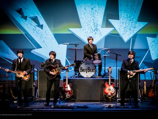 BritBeat Beatles Tribute Band performs at the Oconomowoc